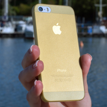 Husa Slim iPhone 5S / iPhone 5 / iPhone SE Gold