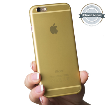 Husa Slim iPhone 6S PLUS / 6 PLUS Gold